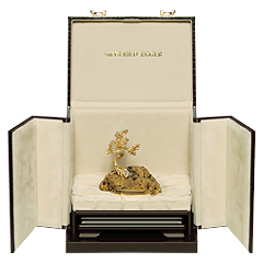 Luxury Gift Box for Golden Tree, Golden Bonsai and Golden Flower
